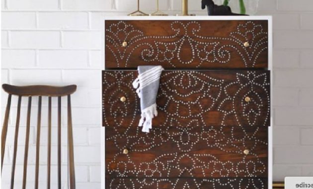 Amazing Drill Conçu Upcycled Dresser